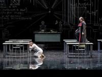 Η Αλεξία Βουλγαρίδου ως Μαργαρίτα, ο Eric Cutler ως Faust και ο Paata Burchuladze ως Μεφιστοφελής (φωτο Μ. Σταφυλίδου)