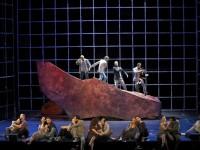 Σκηνή από την όπερα Παλίρροια (φωτο: Εθνική Λυρική Σκηνή)