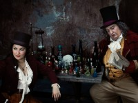 Anna Netrebko (Adina) και Ambrogio Maestri (Dr Dulcamara). Φωτο: Nick Heavican/Metropolitan Opera