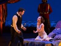 David Daniels (Καίσαρας) και Natalie Dessay (Κλεοπάτρα). Φωτο: Met Opera/ Marty Sohl