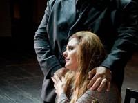 Nelson Martinez (Rigoletto) και Μαρία Μητσοπούλου (Gilda). Φωτο: Stefanos/Εθνική Λυρική Σκηνή.