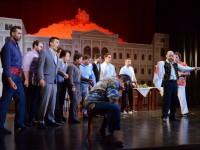 """Σκηνή της κατάρας από την παράσταση του """"Rigoletto""""."""