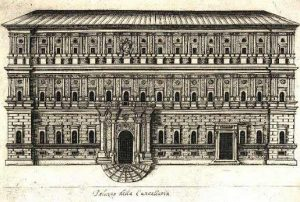 Palazzo della cancelleria.