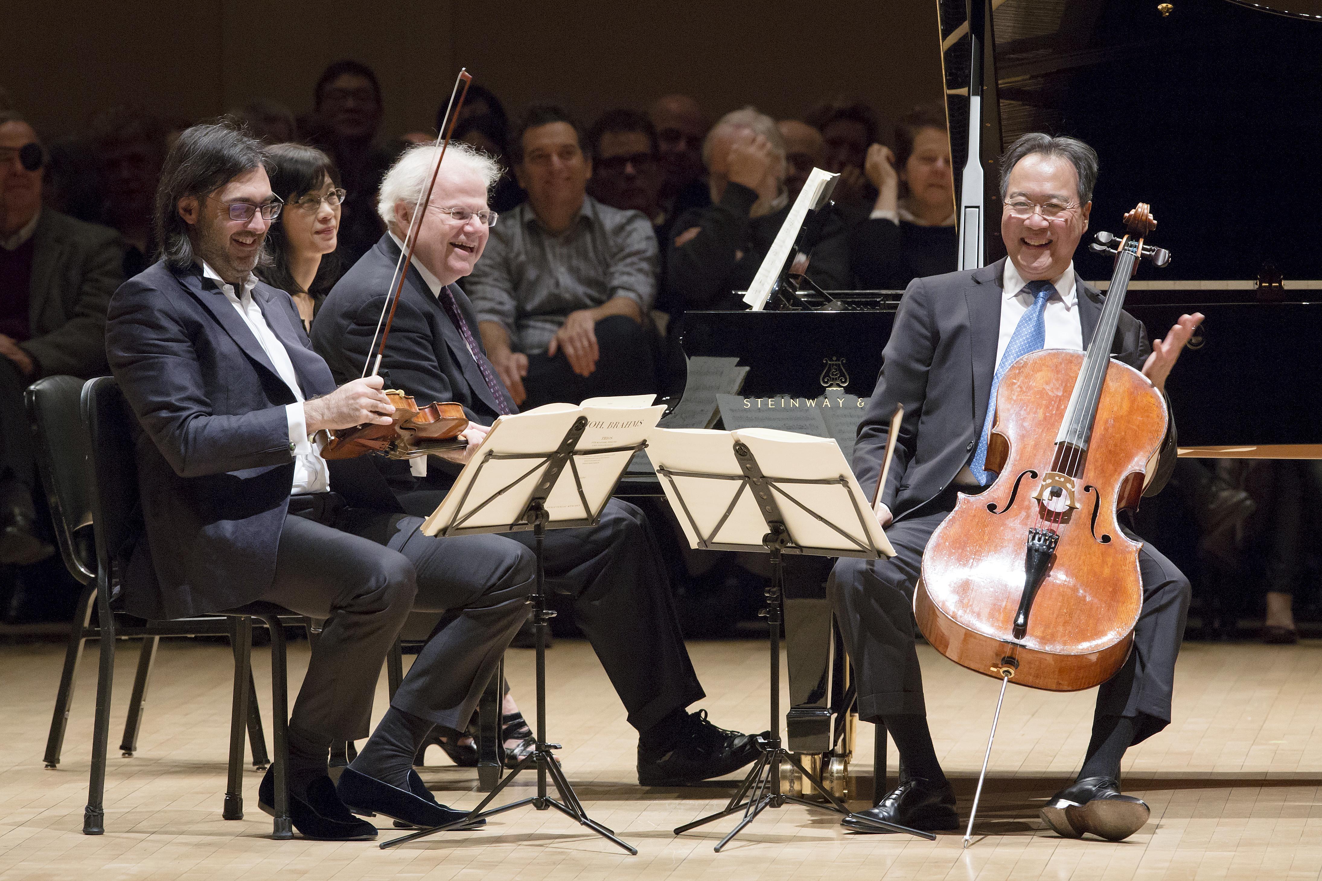 Μαγικό Τρίο Καβάκου-Γιο Γιο Μα-Αξ στο Carnegie Hall