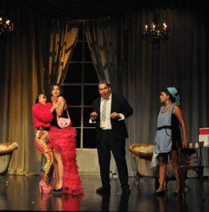 Σκηνή από την παράσταση της Cenerentola.