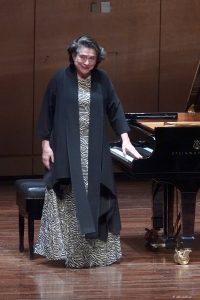 Η Elisabeth Leonskaja στο Μέγαρο Μουσικής Αθηνών. Φωτο: Χάρης Ακριβιάδης.