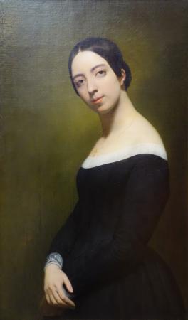 Η Pauline Viardot. Πορτραίτο φιλοτεχνημένο από τον Ary Scheffer. 1840.