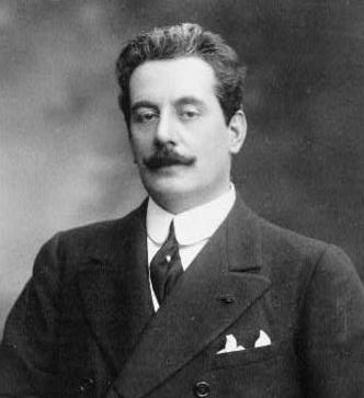 Ο συνθέτης Giacomo Puccini.