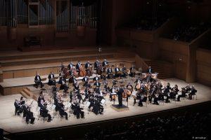 Η Φιλαρμονική Ορχήστρα του Λονδίνου, υπό τον Jaime Martín, στο ΜΜΑ. (Φωτο: Χ. Ακριβιάδης).