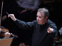 Ο Mikhail Pletnev στο Μέγαρο Μουσικής Αθηνών. Φωτο: Χάρης Ακριβιάδης.