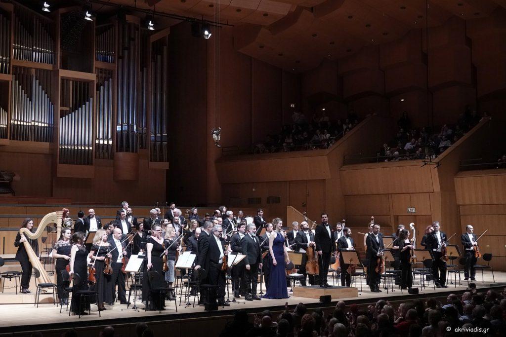 Το εορταστικό Gala της Κρατικής Ορχήστρας Αθηνών. Φωτο: Χ. Ακριβιάδης.