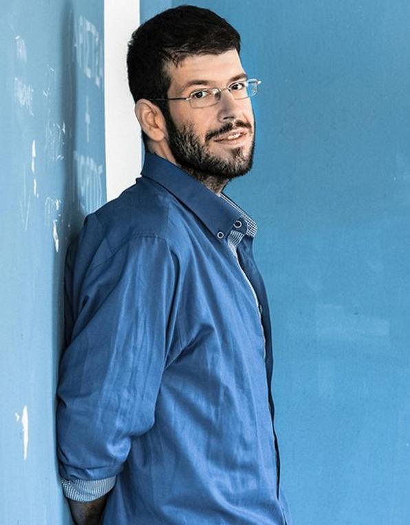 Ο σκηνοθέτης Θοδωρής Βουρνάς.