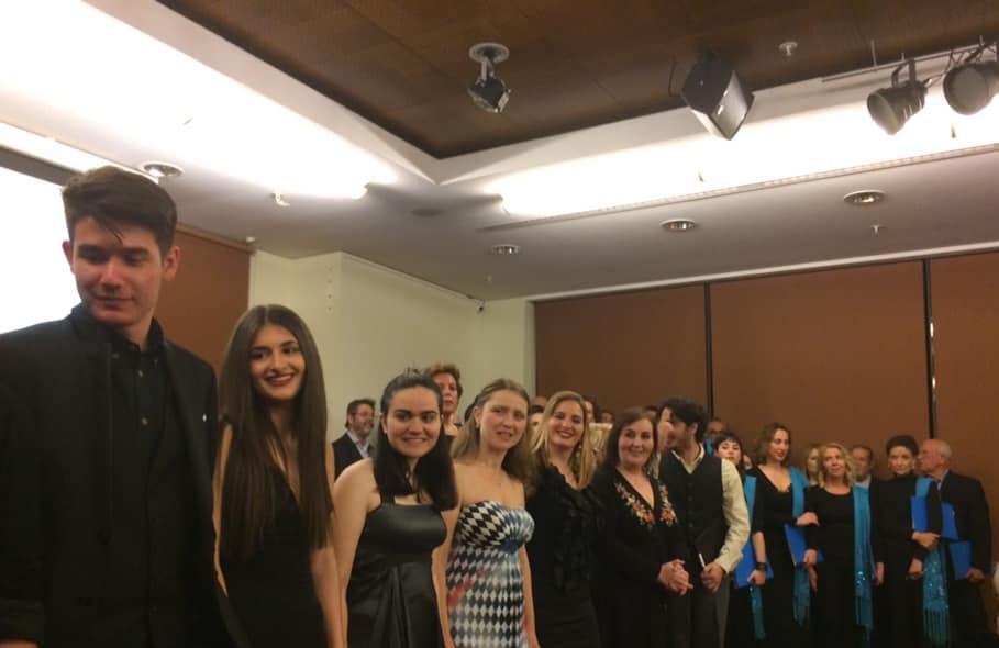 """Συναυλία του Διεθνούς Μουσικού Σωματείου Gina Bachauer, υπέρ των σκοπών του Συλλόγου Προστασίας Αγέννητου Παιδιού """"Η Αγκαλιά"""""""