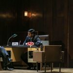 """Σκηνή από την παραγωγή της όπερας """"Οι Γάμοι του Φίγκαρο"""". Διονύσης Σούρμπης, Χρήστος Κεχρής. Φωτο: Αντρέας Σιμόπουλος."""