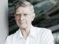 Ο αρχιμουσικός Herbert Blomstedt.