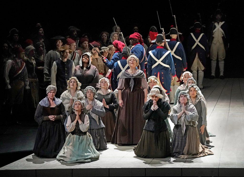 Σκηνή από την τρίτη πράξη. Φωτο: Ken Howard/ The Met Opera.