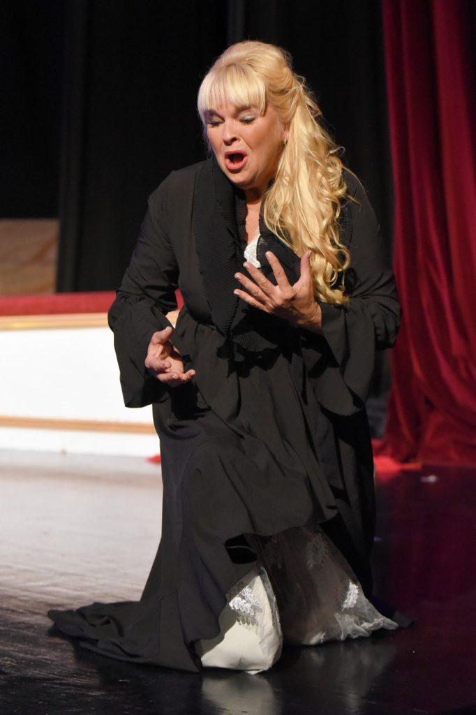 Η Eilana Lappalainen ως Αριάδνη. Φωτο: Festival of the Aegean.