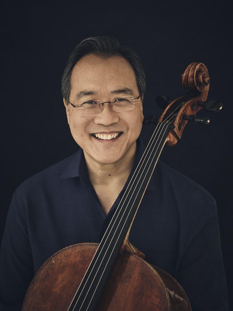 Ο βιολοντσελίστας Yo-Yo Ma. Φωτο: Jason Bell.