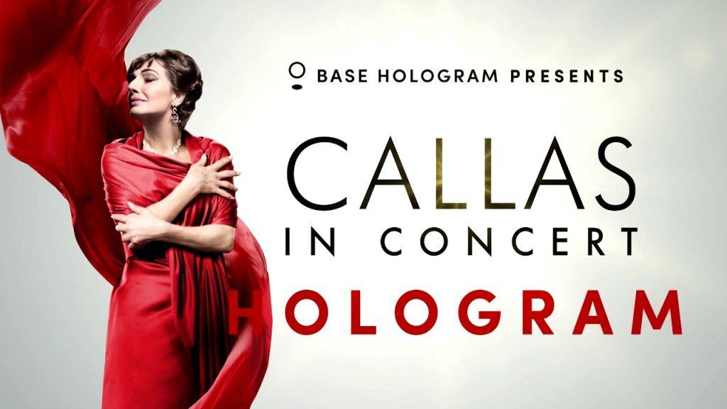 Mαρία Κάλλας: The Hologram Tour