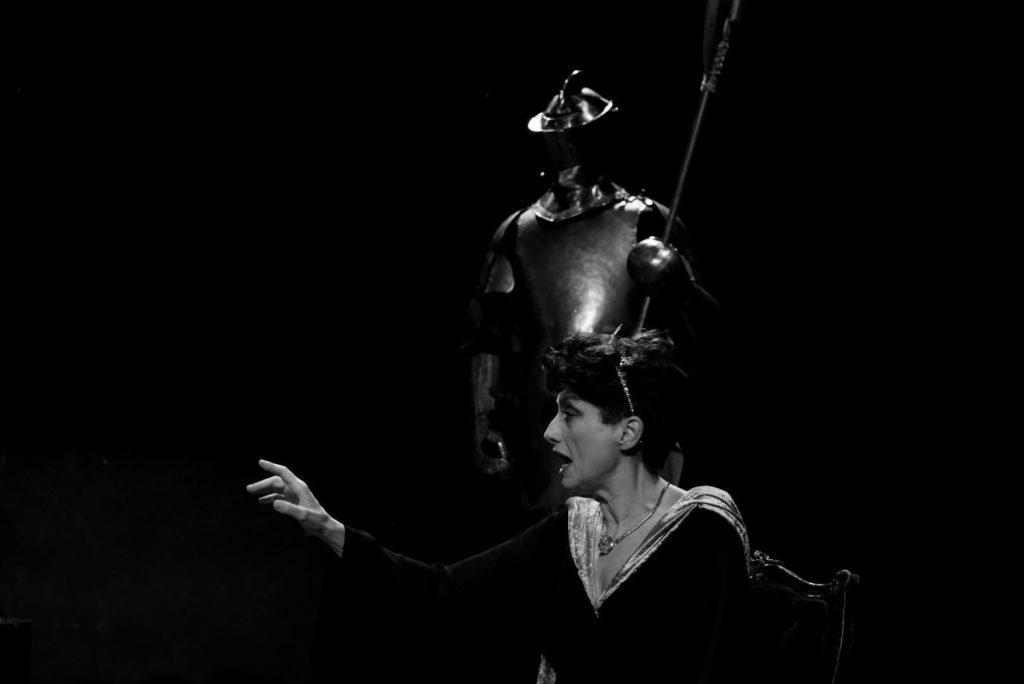 Η Εβίτα Παπασπύρου. Φωτο: Κατερίνα Αρβανίτη.