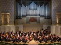 """Η Κρατική Ακαδημαϊκή   Συμφωνική Ορχήστρα της Ρωσίας «Evgeny Svetlanov». Φωτο: The State Academic Symphony Orchestra """"Evgeny Svetlanov""""."""