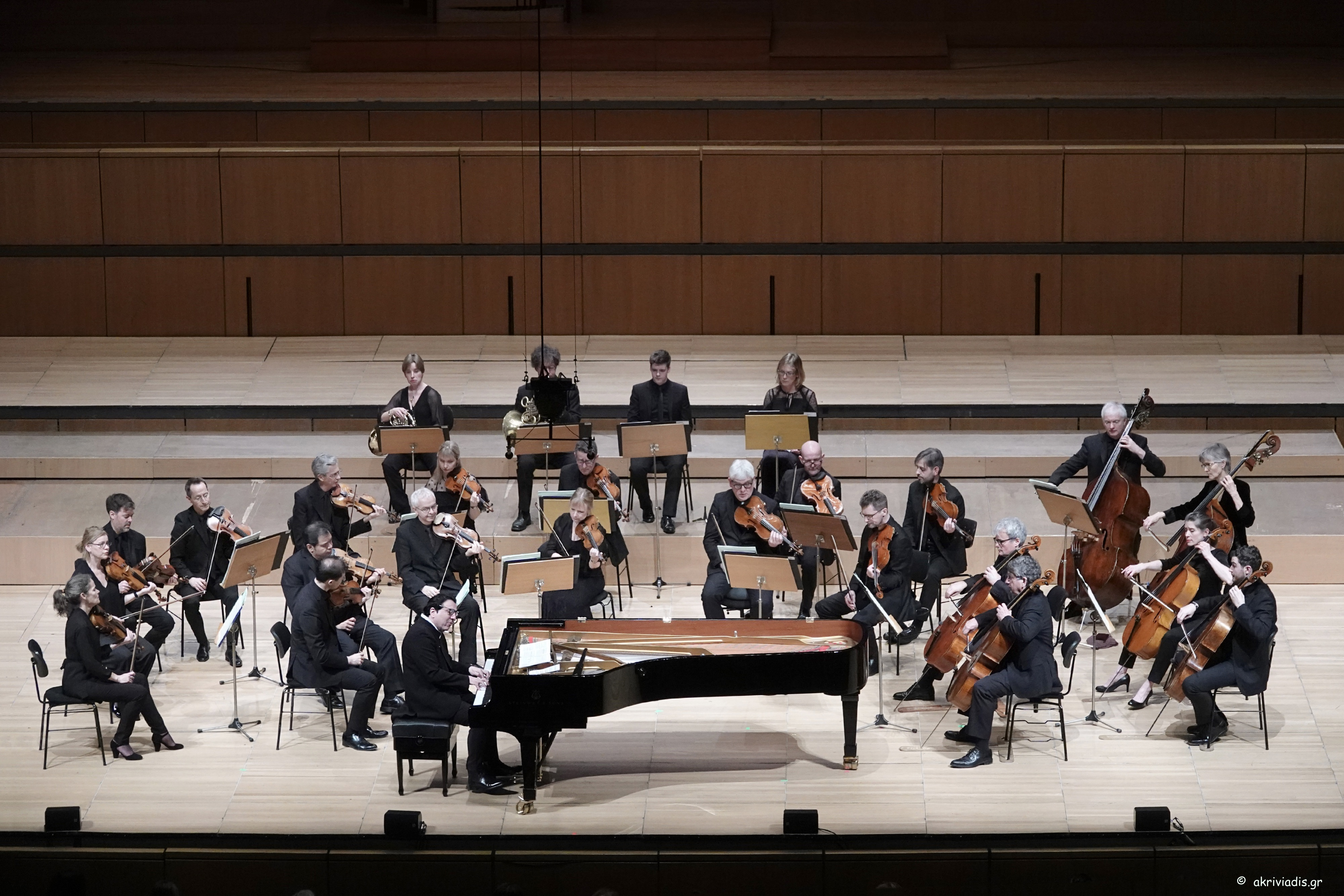 Διεθνείς ορχήστρες στο Μέγαρο Μουσικής Αθηνών: Ακαδημία του Αγ. Μαρτίνου των Αγρών με σολίστ τον Fazil Say - Εnsemble και Χορωδία Balthasar Neumann, υπό Thomas Hengelbrock