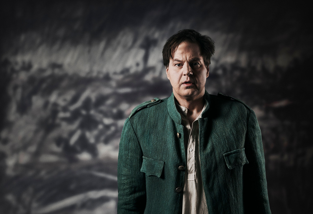 Ο Peter Mattei ως Wozzeck. Φωτο: Paola Kudacki / Met Opera.