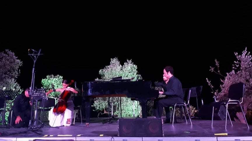 Ο πιανίστας Παναγιώτης Τροχόπουλος.