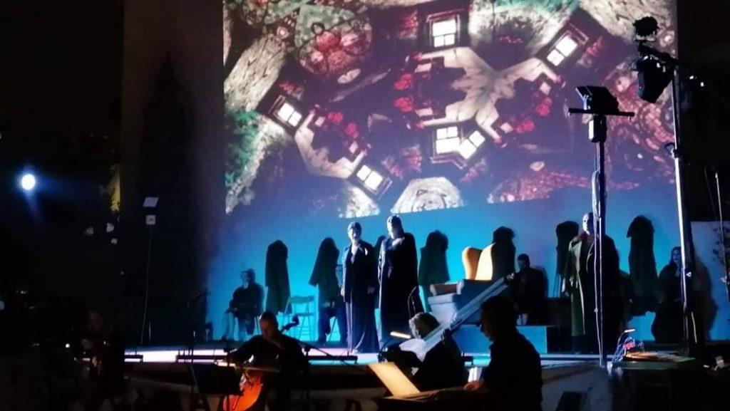 """""""Διδώ και Αινείας"""" του Henry Purcell. Σκηνή από την παράσταση. Φωτο: Αγγελική Παππά."""