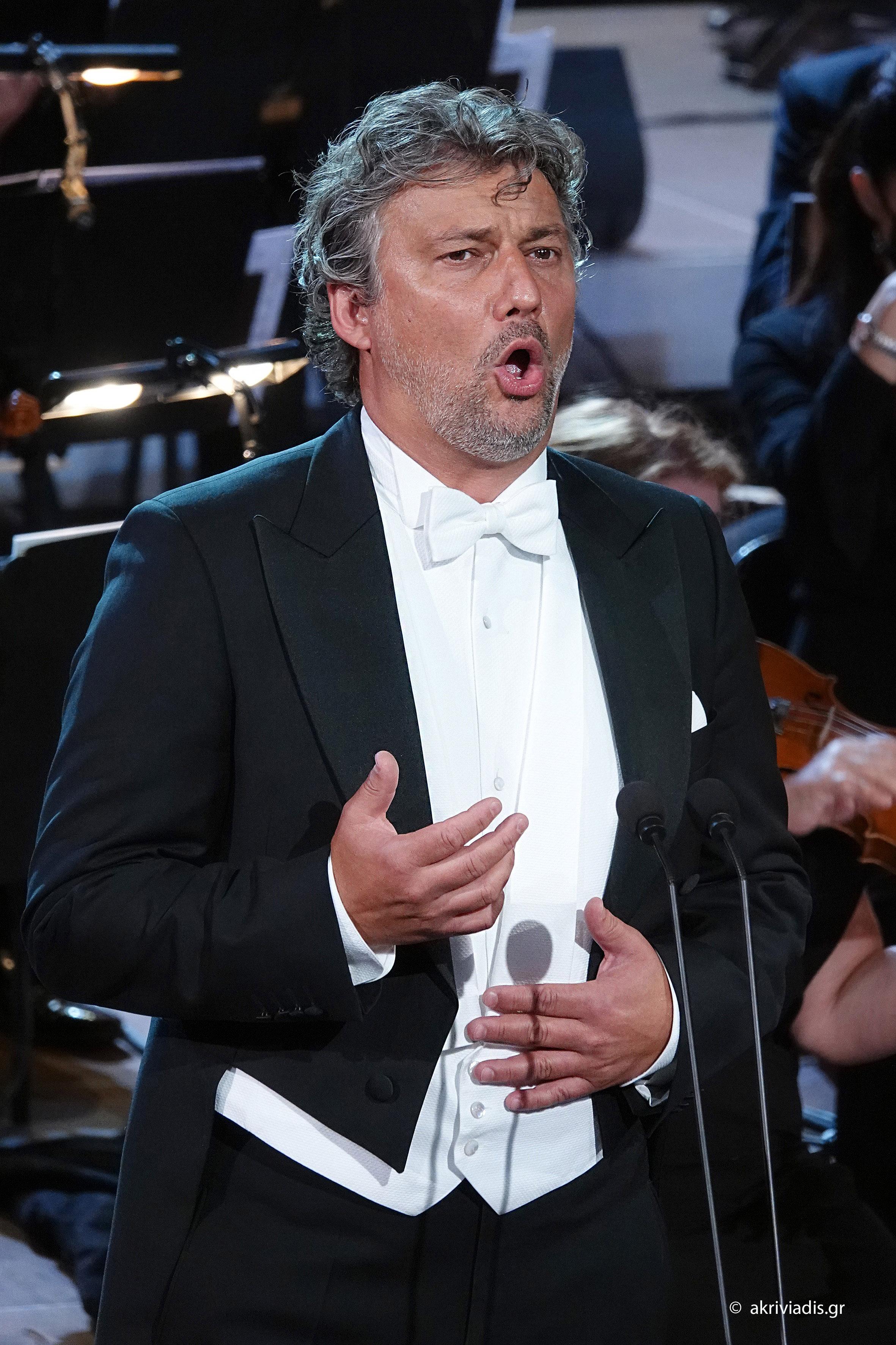 Ο Jonas Kaufmann στο Ηρώδειο (φωτο: Χ. Ακριβιάδης).